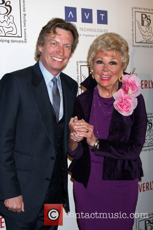 Nigel Lythgoe, Mitzi Gaynor and Beverly Hilton Hotel 2
