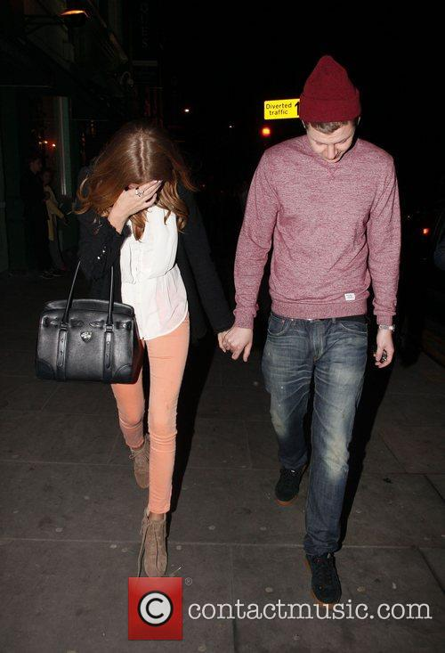 Professor Green and Millie Mackintosh  leaving Public...