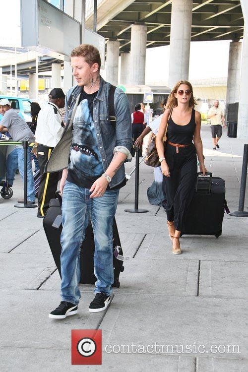 Arriving at JFK airport for Millie's birthday weekend