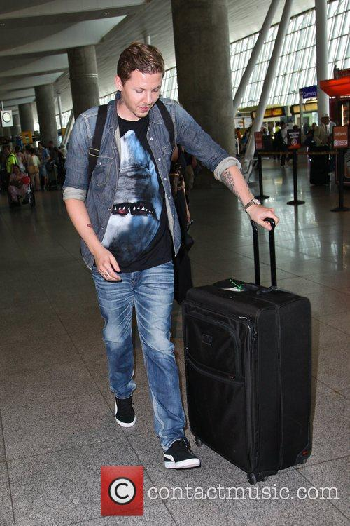 professor green aka stephen manderson arriving at 5884616