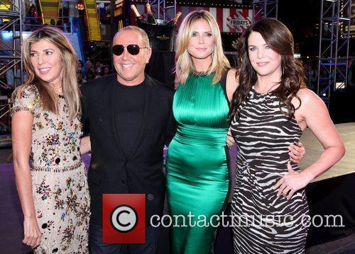 Nina Garcia, Heidi Klum, Lauren Graham and Michael Kors 2