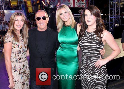 Nina Garcia, Heidi Klum, Lauren Graham and Michael Kors 3