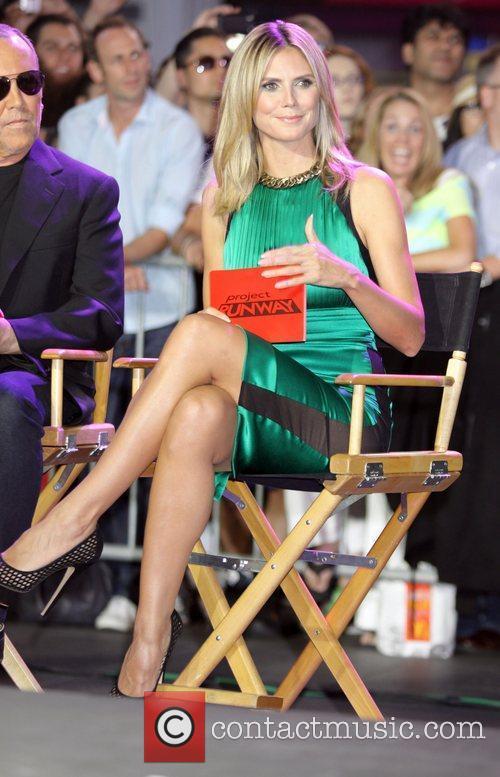 Heidi Klum and Times Square 1