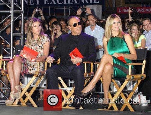Nina Garcia, Heidi Klum and Michael Kors 7