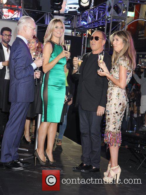 Nina Garcia, Heidi Klum and Michael Kors 8