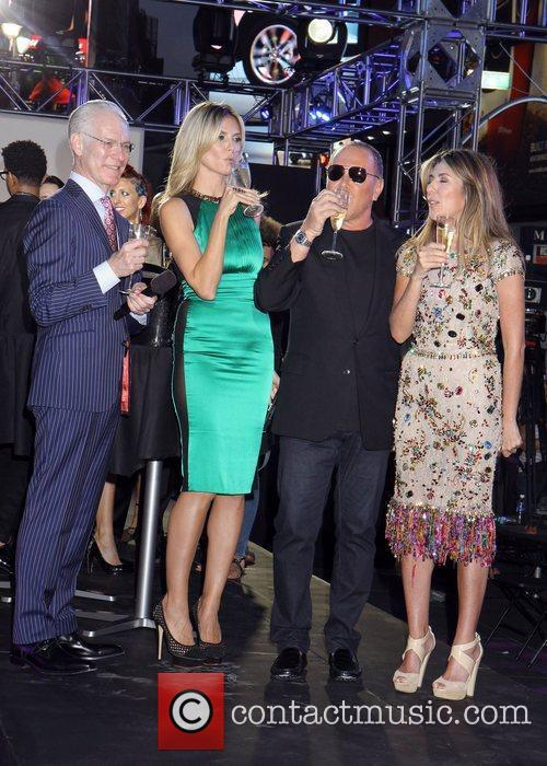 Nina Garcia, Heidi Klum and Michael Kors 9