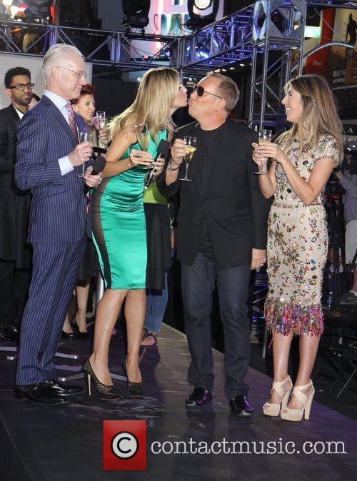 Nina Garcia, Heidi Klum and Michael Kors 10