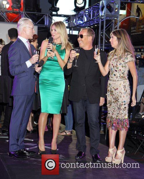 Nina Garcia, Heidi Klum and Michael Kors 11