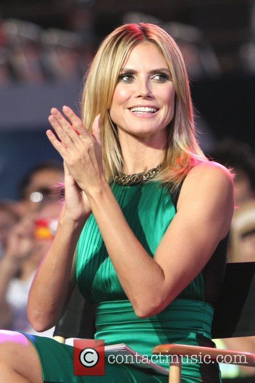 heidi klum project runway 10th anniversary nyc 5865586