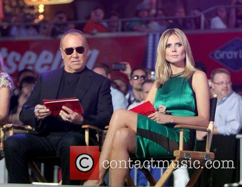 Michael Kors, Heidi Klum and Times Square 2