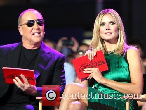 Michael Kors, Heidi Klum and Times Square 3