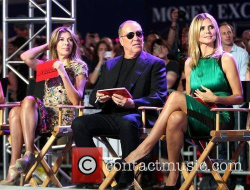 Nina Garcia, Heidi Klum and Michael Kors 8