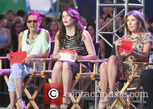 Patricia Field, Lauren Graham and Nina Garcia 11