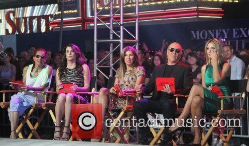 Patricia Field, Heidi Klum, Lauren Graham, Michael Kors and Nina Garcia 9