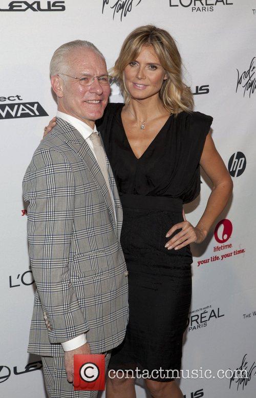 Tim Gunn and Heidi Klum 2