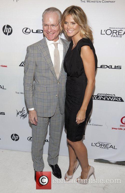Tim Gunn and Heidi Klum 3