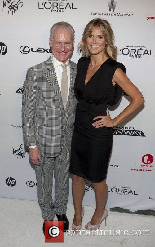 Tim Gunn and Heidi Klum 1