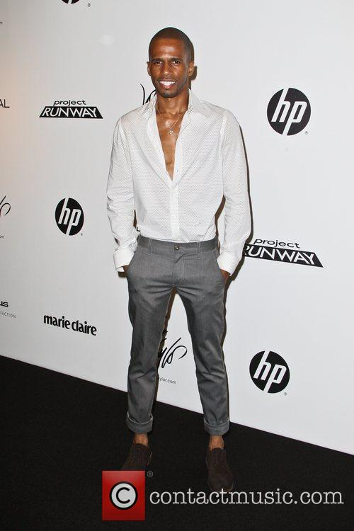 Eric West Project Runway Season 10 wrap party...