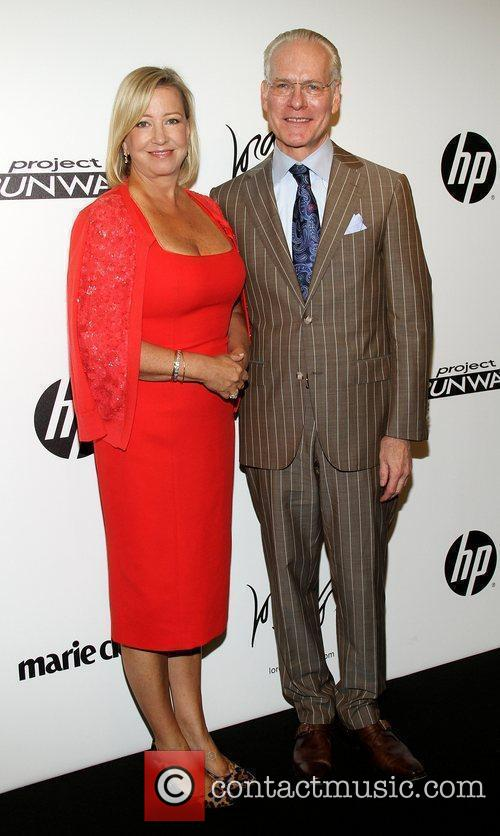 Tim Gunn and Bonnie Brooks Project Runway Season...