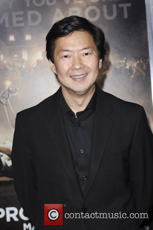 Ken Jeong and Grauman's Chinese Theatre 2