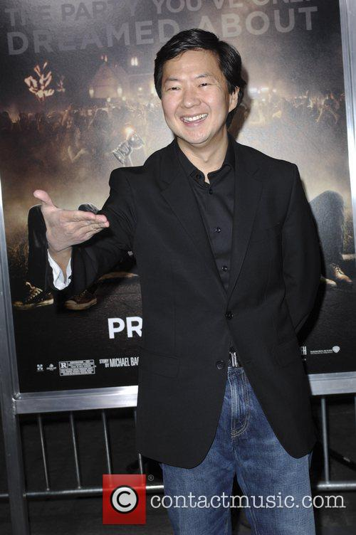 Ken Jeong and Grauman's Chinese Theatre 3