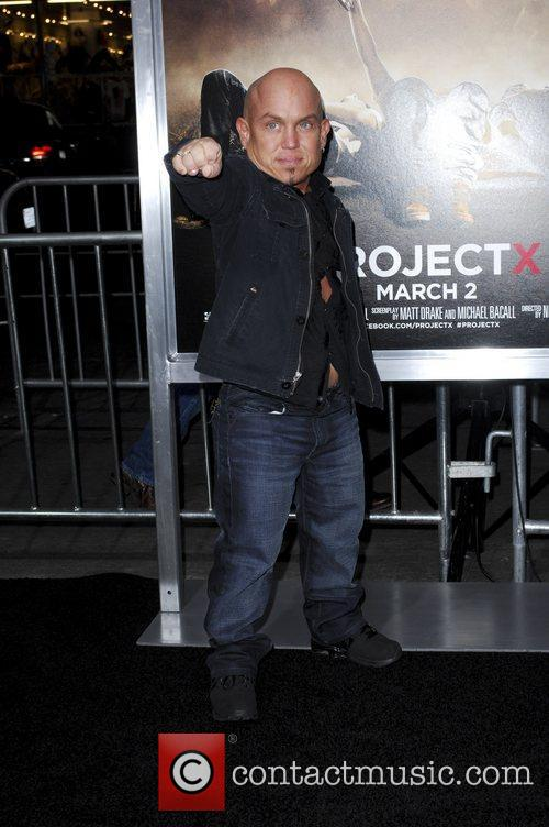 Martin Klebba and Grauman's Chinese Theatre