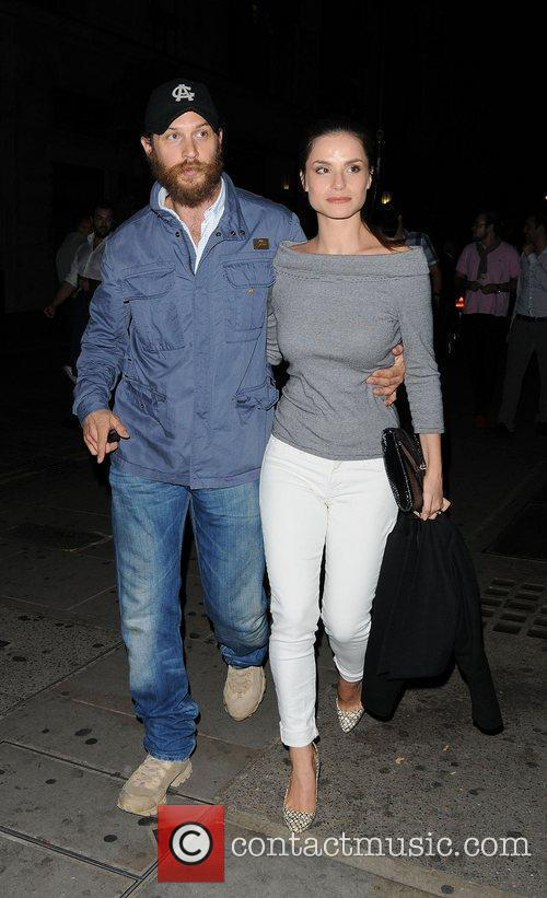 Tom Hardy and Charlotte Riley ,  at...