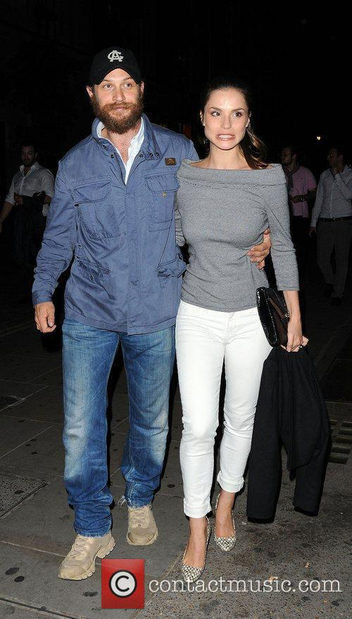 Tom Hardy and Charlotte Riley 7