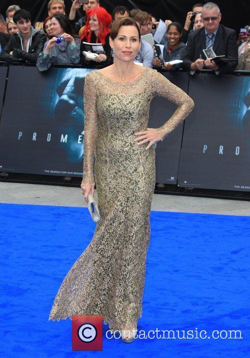 Minnie Driver Prometheus World premiere held at the...