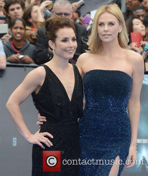 Charlize Theron and Noomi Rapace 1