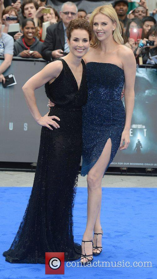 Charlize Theron and Noomi Rapace 8