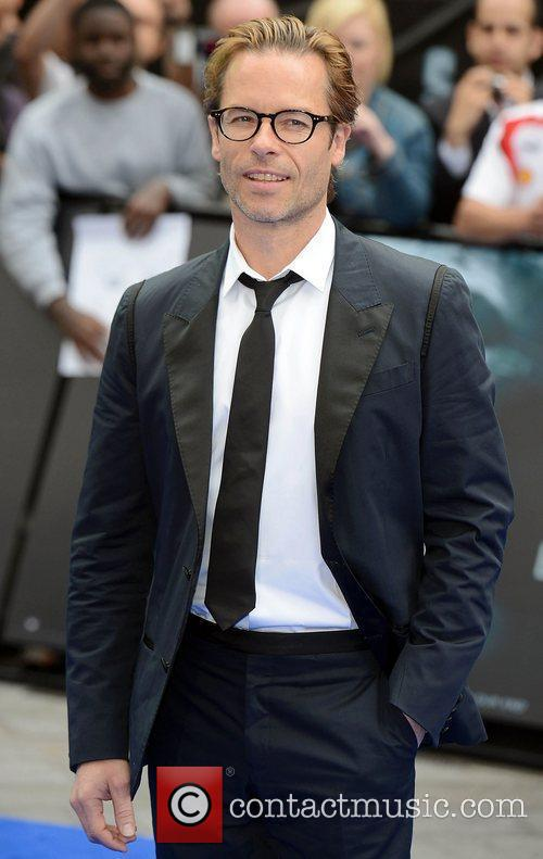 Guy Pearce at the premiere of Prometheus at...