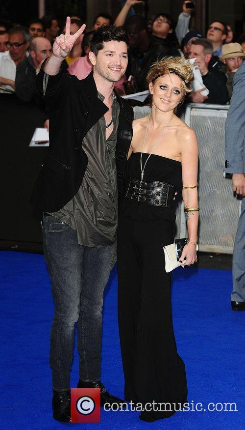 Danny O'Donoghue and Bo Bruce at the 'Prometheus'...