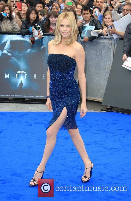Charlize Theron Prometheus World premiere held at the...