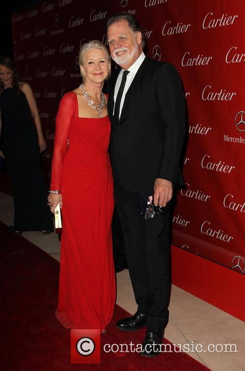 Helen Mirren, Taylor Hackford, Palm Springs International Film Festival Awards Gala