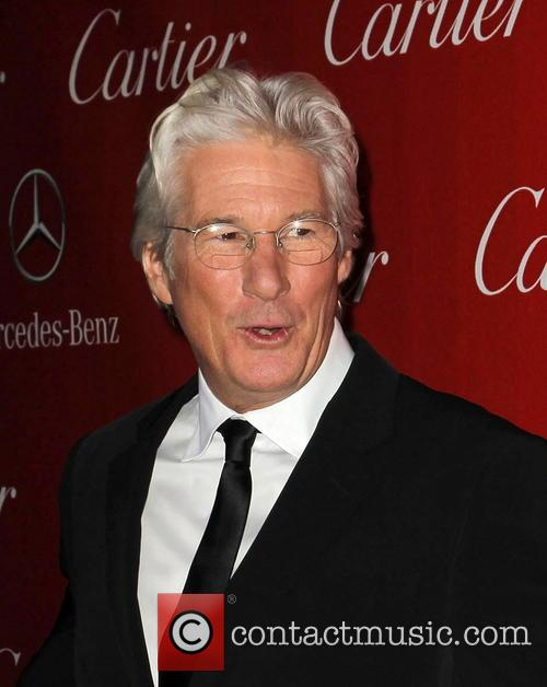 Richard Gere and Palm Springs International Film Festival Awards Gala 3