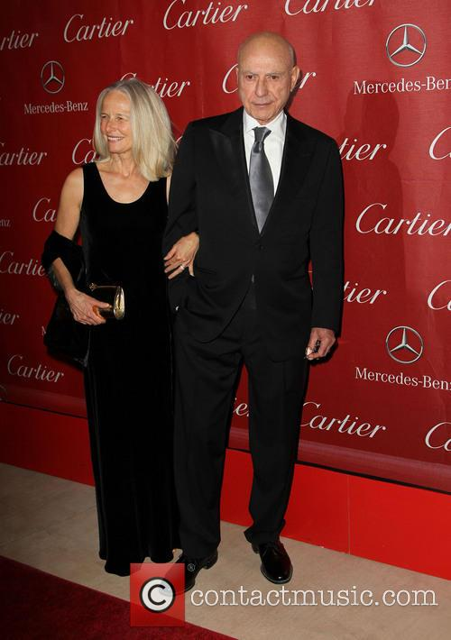 Alan Arkin, Suzanne Newlander Arkin and Palm Springs International Film Festival Awards Gala 1