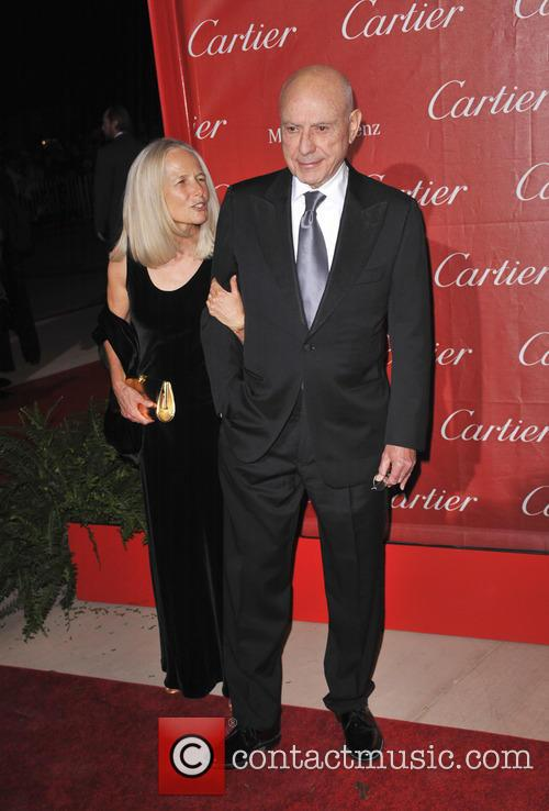 Alan Arkin, Suzanne Newlander Arkin, Palm Springs International Film Festival Awards Gala