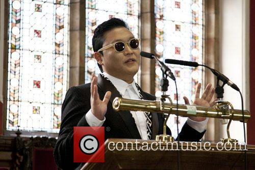 South Korean, Psy, Park Jae-sang, Gangnam Style, East Asian and Oxford Union 9