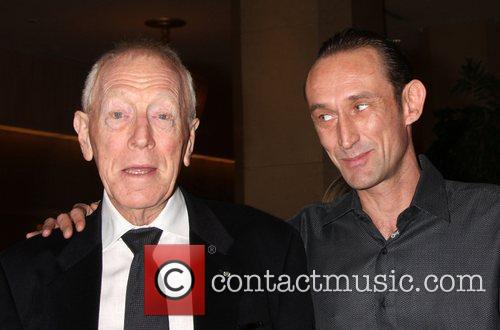 Max Von Sydow and Beverly Hilton Hotel 2