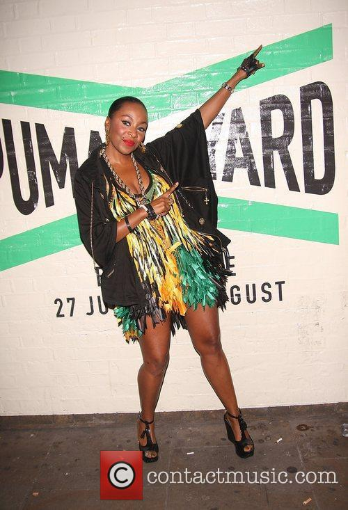 Kele Le Roc Puma party held at the...