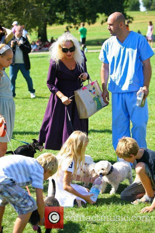 Debbie Bright Celebrities attend the Pup Aid 2012...