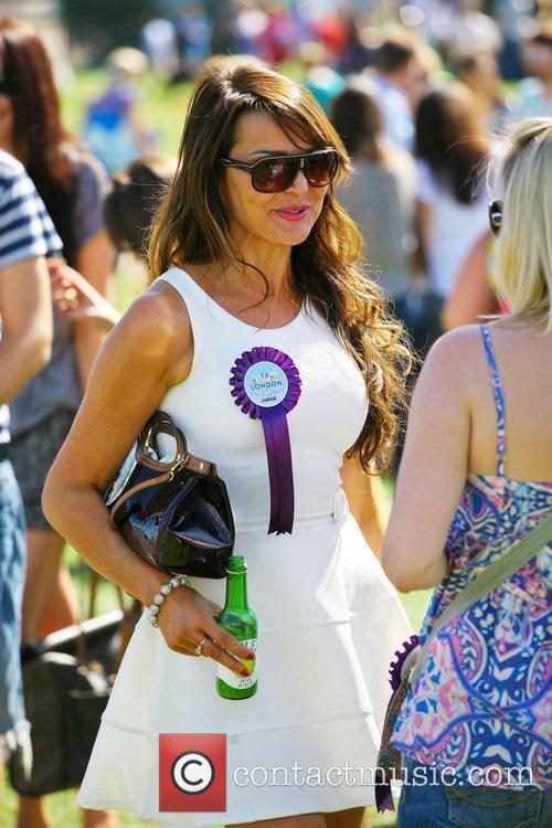 lizzie cundy celebrities attend the pup aid 4066532