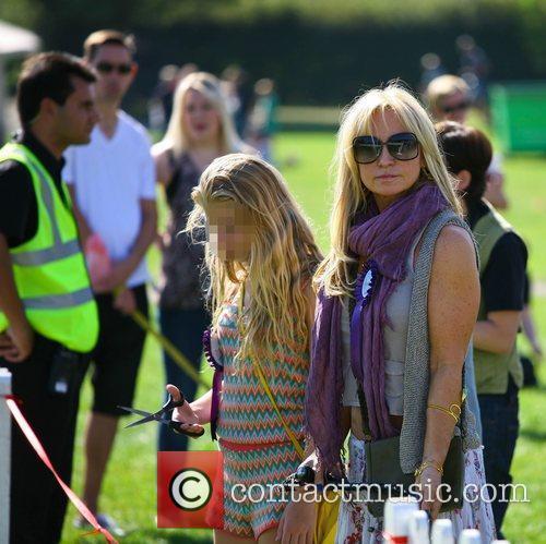 Meg Matthews and her daughter Anais Gallagher Celebrities...