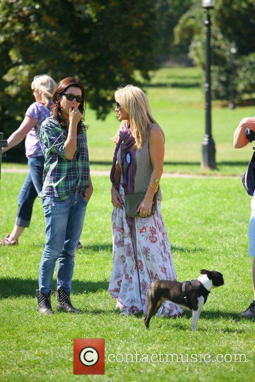 Meg Matthews Celebrities attend the Pup Aid 2012...