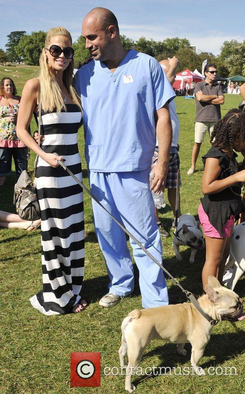 Sarah Harding and Marc Abrahams attend the PupAid...
