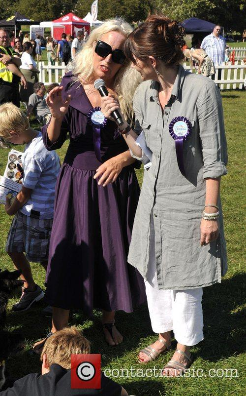 Debbie Rose-Bright attends the PupAid Celebrity-judged Dog Show...