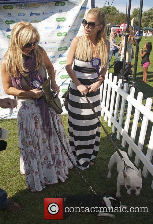 Meg Mathews and Sarah Harding attend the PupAid...