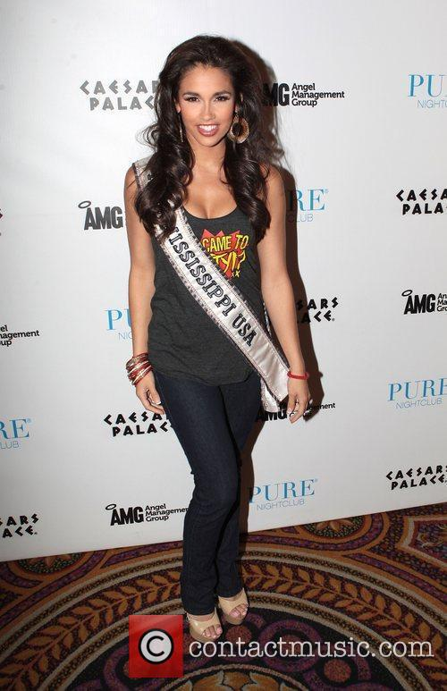 Miss Mississippi USA, Myverick Garcia  at Pure...
