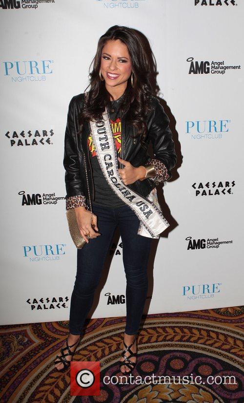 Miss South Carolina USA, Erika Powell  at...